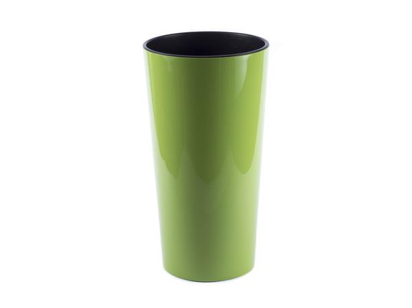 """КАШПО пластмассовое """"Lilia"""" ярко-зеленое 19*36 см (арт. LA535-39, код 395354)"""