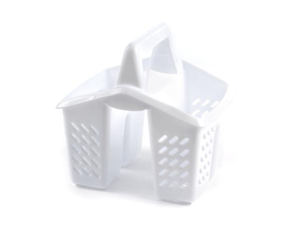 ПОДСТАВКА ДЛЯ СТОЛОВЫХ ПРИБОРОВ пластмассовая 17,5*14,5*17 см (арт. 14007, код 140076)