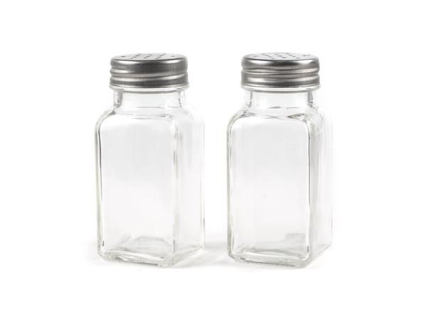 НАБОР БАНОЧЕК ДЛЯ СПЕЦИЙ стекло/металл 2 шт. 100 мл (арт. 10374976)