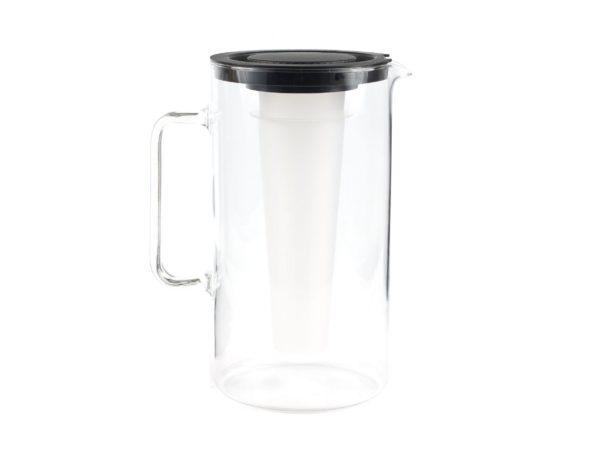 КУВШИН стеклянный с отделением для льда и крышкой 2,5 л (арт. 2544, код 330629)