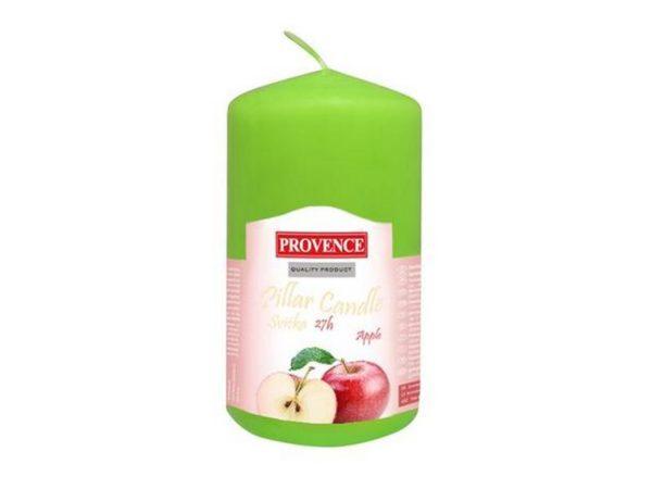 """СВЕЧА ароматизированная """"Яблоко"""" 11*6,5 см (арт. 560110/85)"""