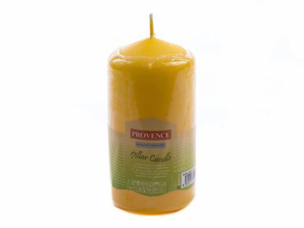 СВЕЧА декоративная 6,5*12,5 см Желтая (арт. 560113/13)