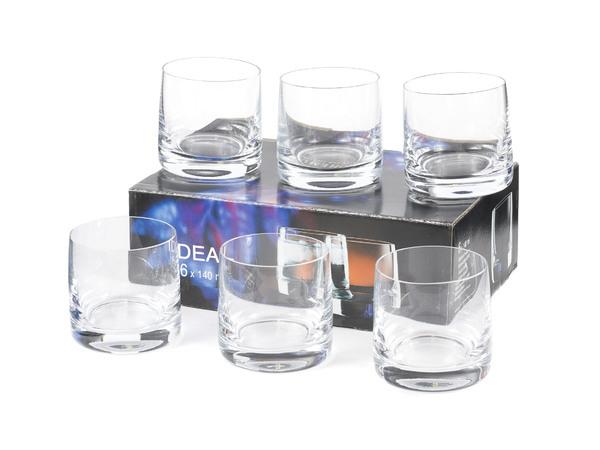 IDEAL 25015/140 - НАБОР СТАКАНОВ 6 шт. 140 мл (натрий-кальций-силикатное стекло)