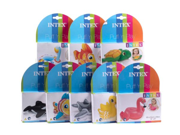 ПРИСПОСОБЛЕНИЕ ДЛЯ ИГР НАДУВНОЕ пластмассовое детское 23 см (арт. 58590)