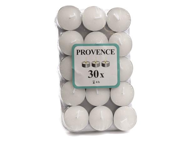 """НАБОР СВЕЧЕЙ декоративных малых простых в металлической гильзе 1,5*4 см 30 шт. """"Provence"""" (арт. 560102)"""