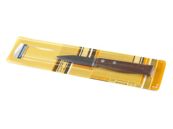 """НОЖ металлический для овощей """"Tradicional"""" с деревянной ручкой 16, 5/7, 1 см (арт. 22210103)"""