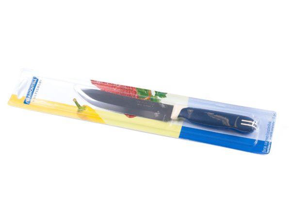 """НОЖ металлический для мяса с пластмассовой ручкой """"Multicolor"""" 26, 5/15 см (арт. 23522116)"""
