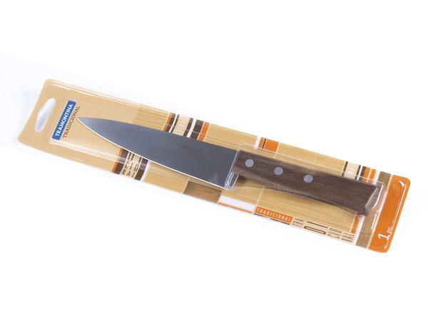 """НОЖ металлический """"Tradicional"""" с деревянной ручкой 28/15 см (арт. 22219106)"""