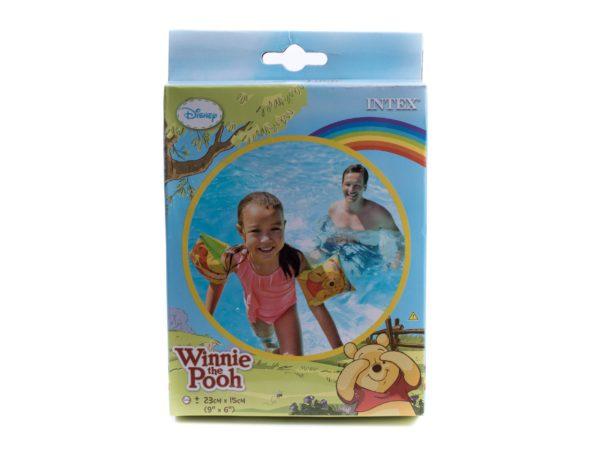НАРУКАВНИКИ НАДУВНЫЕ пластмассовые детские 23*15 см (арт. 56644)