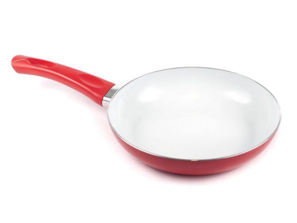 """СКОВОРОДА алюминиевая с керамическим покрытием """"Red Culinaria"""" 24*5 см (арт. 40HTXJPCE0124RE-A, код 307700)"""