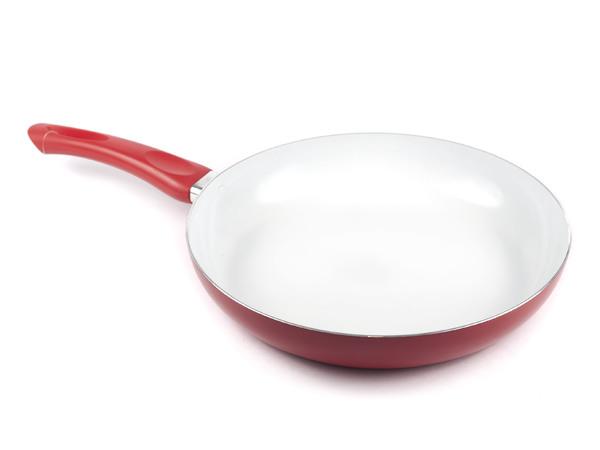 """СКОВОРОДА алюминиевая с керамическим покрытием """"Red Culinaria"""" 28*5,5 см (арт. 40HTXJPCE0128RE-A, код 307717)"""