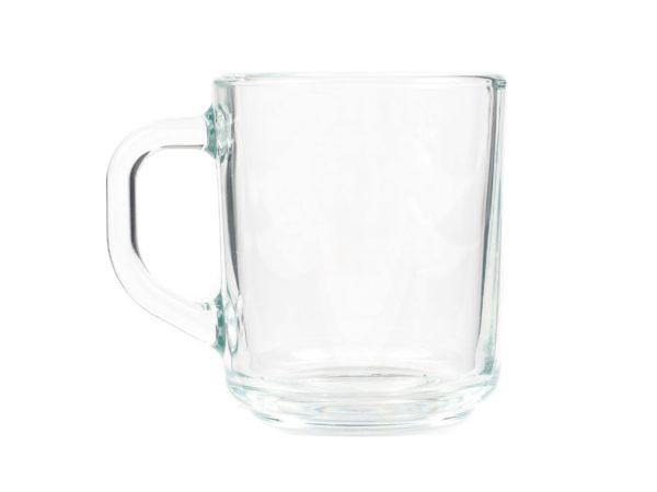 """КРУЖКА стеклянная """"Green Tea"""" 250 мл (арт. H8437, код 011131)"""