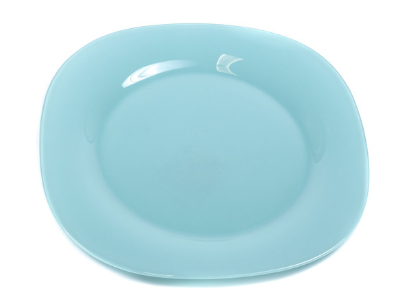 "ТАРЕЛКА ДЕСЕРТНАЯ стеклянная ""Colorama Blue"" 19,5 см (арт. J7757, код 106547)"