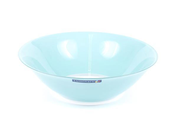 """САЛАТНИК стеклянный """"Colorama Blue"""" 27*8,5 см (арт. J7760, код 115747)"""