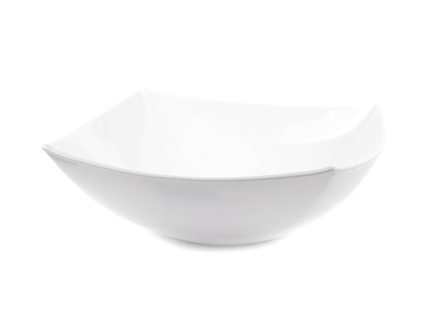 """САЛАТНИК стеклокерамический """"Quadrato White"""" 24*24*8 см (арт. 07784, код 131877)"""