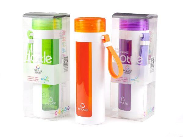БУТЫЛКА пластмассовая для питья 500 мл (арт. 10547, код 500273)