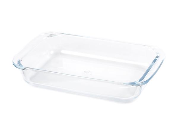 БЛЮДО стеклянное прямоугольное 25,7*15,2*4,4 см/1 л (арт. 8078-5, код 145423)