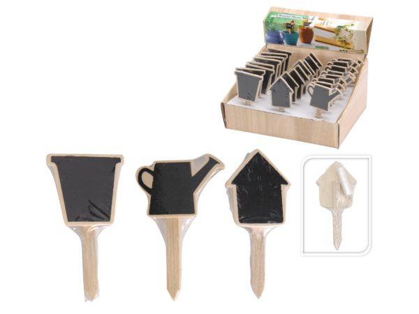 ТАБЛИЧКА САДОВАЯ деревянная 5*11 см + мелок (код 514196)