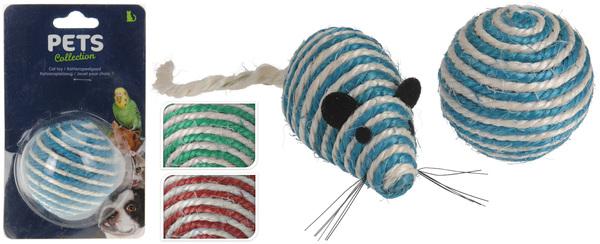 ИГРУШКА ДЛЯ КОТА текстильная 11*5*5 см в ассортименте (код 525759)
