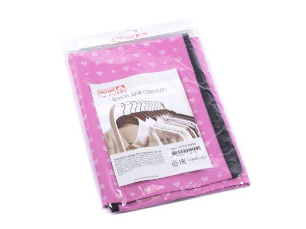 ЧЕХОЛ ДЛЯ ОДЕЖДЫ текстильный 60*100 см (арт. 5170-2233, код 011551)
