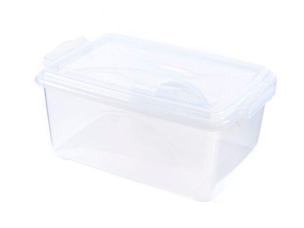 ЯЩИК ДЛЯ ХРАНЕНИЯ пластмассовый с крышкой 11,5 л (арт. 30054R, код 104734)