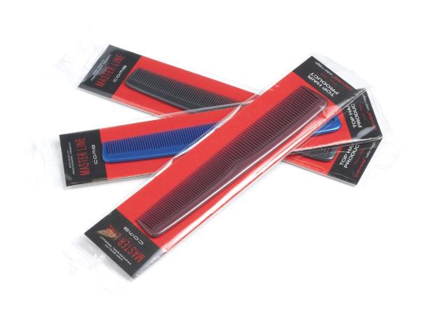 РАСЧЕСКА МУЖСКАЯ пластмассовая 17,5 см (арт. 10430)