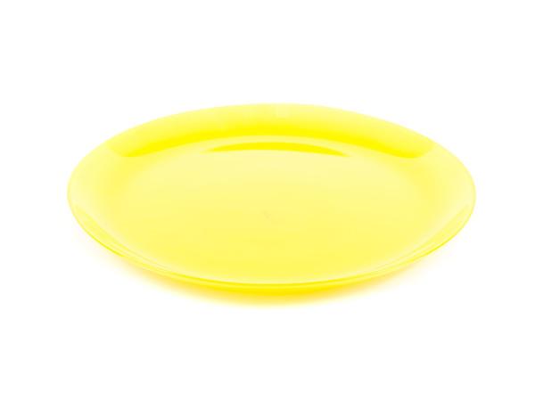 """ТАРЕЛКА МЕЛКАЯ стеклянная """"Arty Yellow"""" 26 см (арт. N2476, код 128341)"""