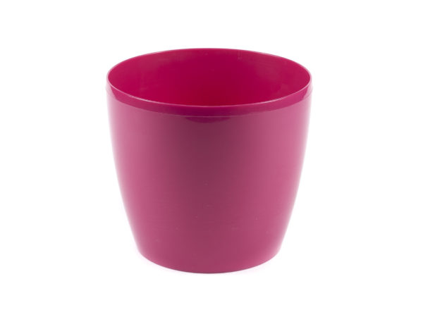 "КАШПО пластмассовое ""Magnolia"" фуксия 18*16 см (арт. LA203-80, код 802036)"