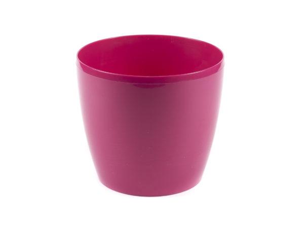 "КАШПО пластмассовое ""Magnolia"" фуксия 25*22 см (арт. LA205-80, код 802050)"