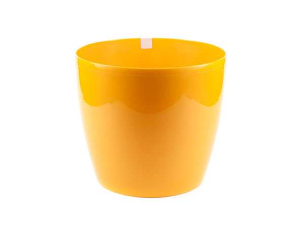 """КАШПО пластмассовое """"Magnolia"""" оранжевое 30*26 см (арт. LA206-96, код 962068)"""