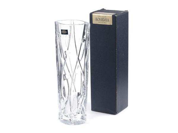 ВАЗА стеклянная LABYRINTH 25,5 см (арт. 9K7/8KC86/0/99J52/255-169)