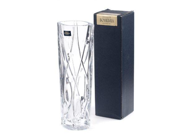 """ВАЗА стеклянная """"LABYRINTH"""" 25,5 см (арт. 9K7/8KC86/0/99J52/255-169)"""