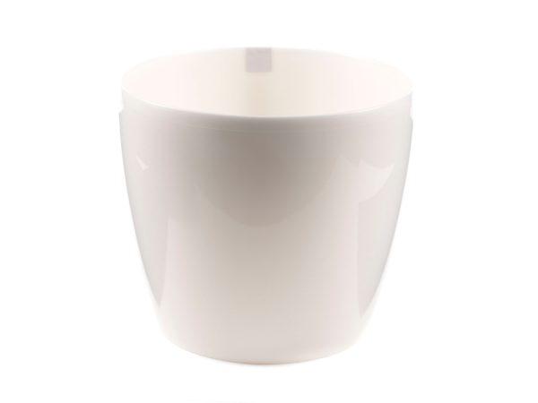 """КАШПО пластмассовое """"Magnolia"""" жемчужное 12*10,4 см (арт. LA200-54, код 542000)"""