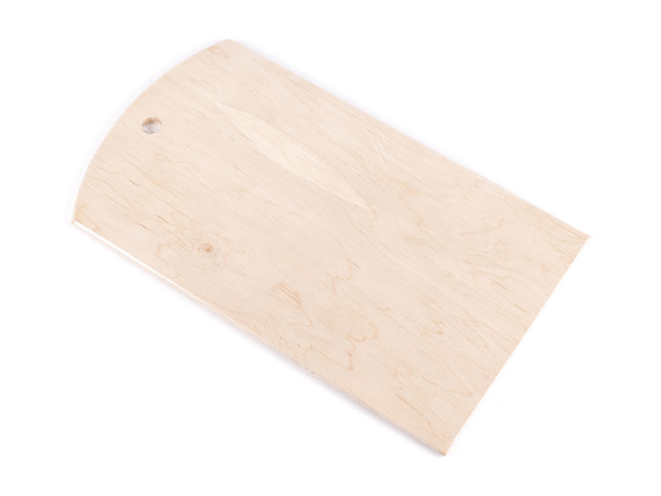 ДОСКА РАЗДЕЛОЧНАЯ деревянная (фанера) 16,5*30*0,5 см (арт. BB101251, код 044863)