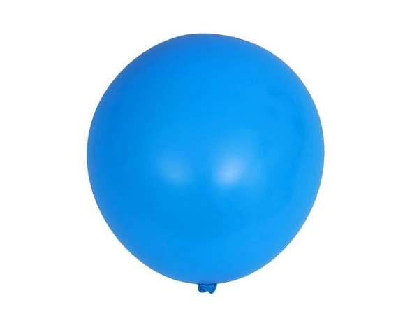 НАБОР ШАРИКОВ резиновых надувных голубых 15 шт. 25 см (арт. 11041119, код 057341)