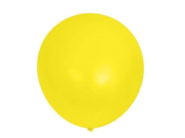 НАБОР ШАРИКОВ резиновых надувных желтых 15 шт. 25 см (арт. 11041127, код 057624)