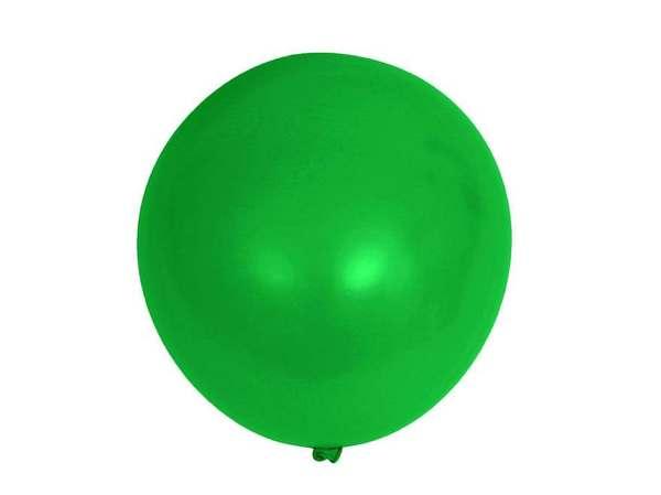 НАБОР ШАРИКОВ резиновых надувных зеленых 15 шт. 25 см (арт. 11041137, код 057280)