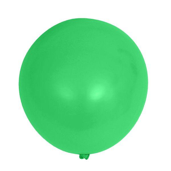 ШАРИК латексный надувной зеленый 81 см (арт. 11015856, код 765865)