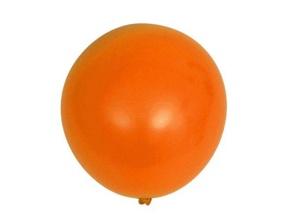 ШАРИК латексный надувной оранжевый 40,5 см (арт. 11015857, код 765827)