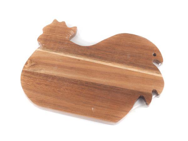 ДОСКА РАЗДЕЛОЧНАЯ деревянная 28,5*20,5*1,3 см (арт. 4610003, код 941526)