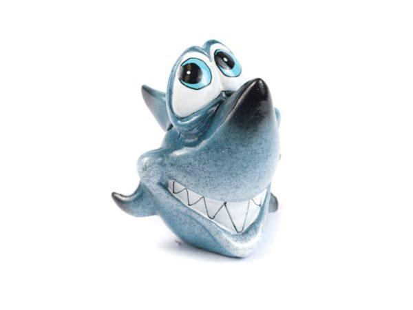 "КОПИЛКА пластмассовая ""Акула"" 10*8,5*11 см (арт. 76834-1, код 141487)"
