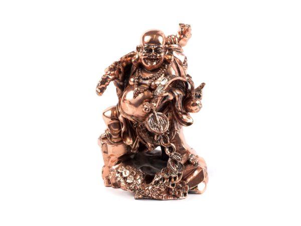"""СТАТУЭТКА пластмассовая """"Будда"""" 13*16 см (арт. 4720059, код 880382)"""