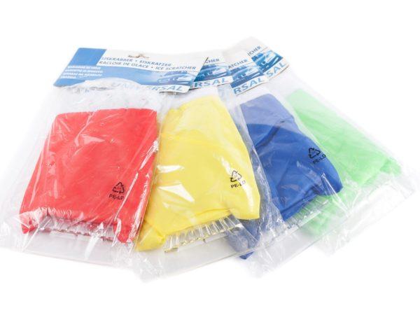 СКРЕБОК ДЛЯ ОЧИСТКИ СТЕКОЛ пластмассовый с рукавицей 24*15 см (код 190476)