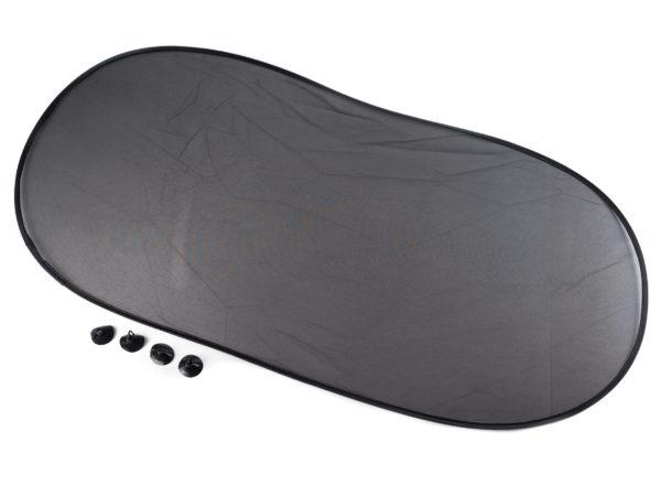 ЭКРАН СОЛНЦЕЗАЩИТНЫЙ пластмассовый на присосках 50*100 см (код 894664)
