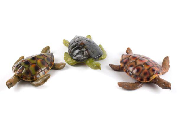 """СТАТУЭТКА пластмассовая """"Черепаха"""" 25,5*16,5*7 см (код 238108)"""