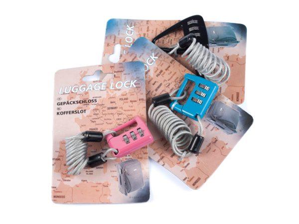 ЗАМОК КОДОВЫЙ металлический для багажа (код 563138)