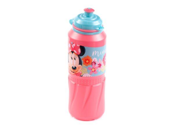 """БУТЫЛКА пластмассовая для питья детская """"Минни"""" 530 мл (арт. 12601502, код 410301)"""