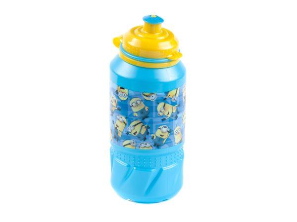 """БУТЫЛКА пластмассовая для питья детская """"Миньоны"""" 420 мл (арт. 12601004, код 410257)"""
