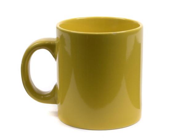 ЧАШКА керамическая Желтая 300 мл (арт. 60JSM6578P, код 000254)