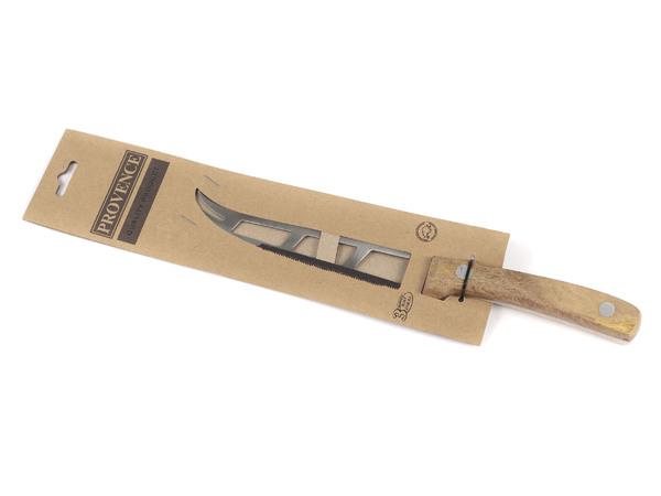 НОЖ металлический с деревянной ручкой 27/14,5 см (арт. 261438)